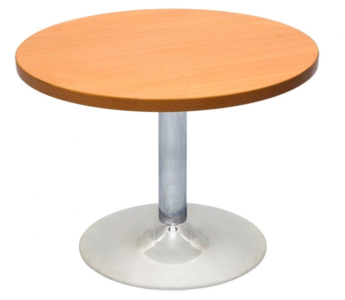ROUND TABLE CHROME BASE