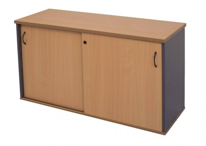 SLIDING DOOR CREDENZA - LOCKABLE