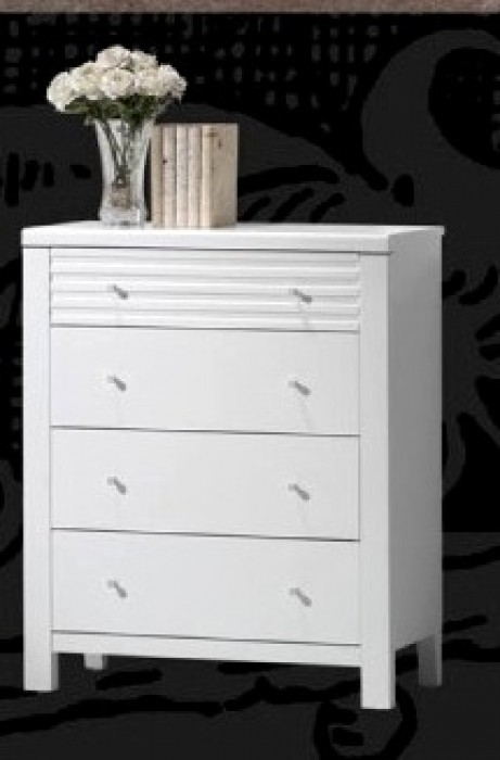 FERN 4 DRAW TALLBOY-WHITE