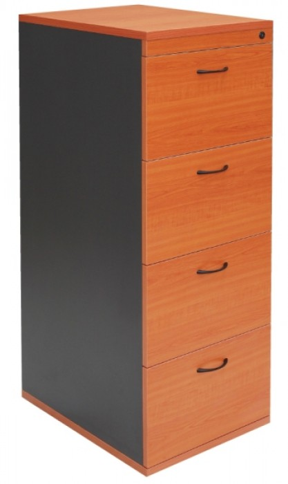 4 DRAWER FILING CABINET (ASSEMBLED)
