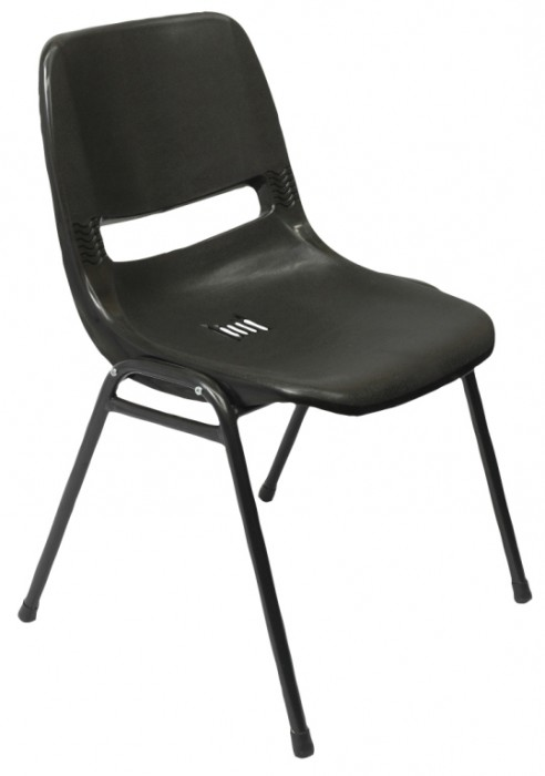 P100 NO ARM VISITOR CHAIR
